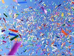 Renkli Konfeti Kağıdı , Konfeti kagıdı , konfeti makinası kağıdı
